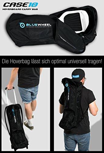Hoverboard Tasche auch als Rucksack nutzbar