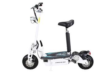 e scootert test e flux freeride seitenansicht