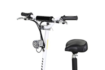 e flux e scooter Sitzfläche