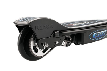 e scooter von hinten